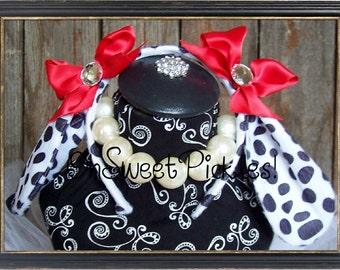 Basic - DOSIE DOE Dalmation Puppy - Halloween Costume Headband - One Size fits all