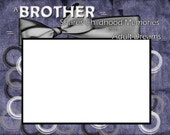 A Brother Shares 8x6 Picture Frame Phot Matte - SapphireCustomPhotos