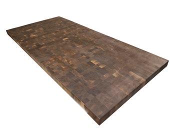 End Grain Walnut Butcher Block Countertop - Island - Chopping Block - Black Walnut - Custom Sizes Available