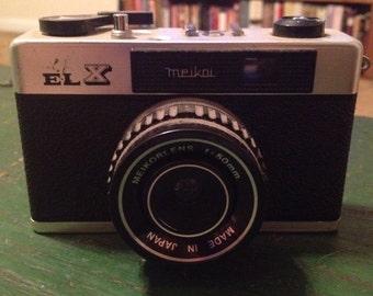 Meikor ELX 35mm camera. Vintage. Film. JAPAN.