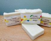 Sensitive Baby Handmade Vegan Soap, Unscented, All Natural