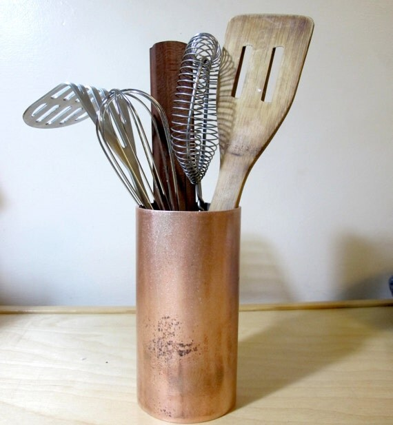 Rustic Kitchen Utensil Holder: Unavailable Listing On Etsy