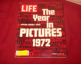 LIFE MAGAZINE  Dec.29 1972 The Year in Pictures 1972