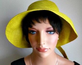 Hat/ Raffia Hat/ Straw Hat/ Handmade Madagascar Raffia hat/ Embelished handmade raffia back/- stylished hat- foldable hat