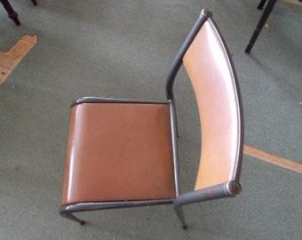 6 x 1960's Tubular Steel Chairs