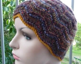 Feather & Fan Autumn Hat  -  1429