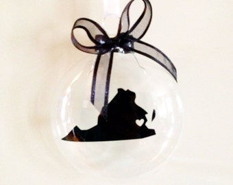 Virginia Christmas Ornament, Custom, Travel, USA