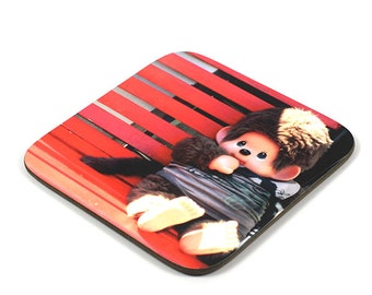 Wooden Coaster, Chicaboo Coaster, Photo Coaster, Handmade