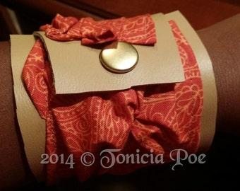 Nkeba Fabric Bracelet