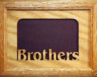 Brothers Family Picture Frame 5x7