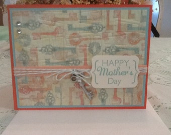 Mothers Day Keys Card M07