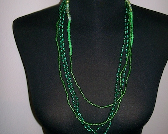 Lovely Green Necklace