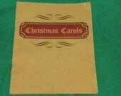 Vintage Christmas Carols' Booklet