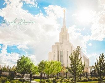 Oquirrh Mountain, Utah LDS Mormon Temple