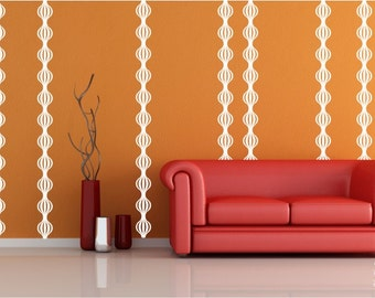 Spheres Mural Wall Decals - Wall Pattern Vinyl Wall Stickers Art