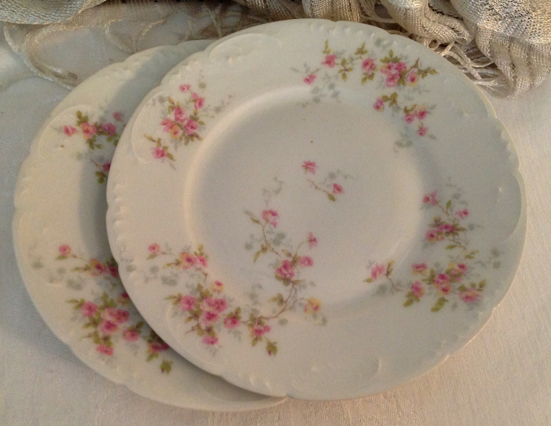 Vtg Theodore Haviland Limoges France 8 Luncheon Plate