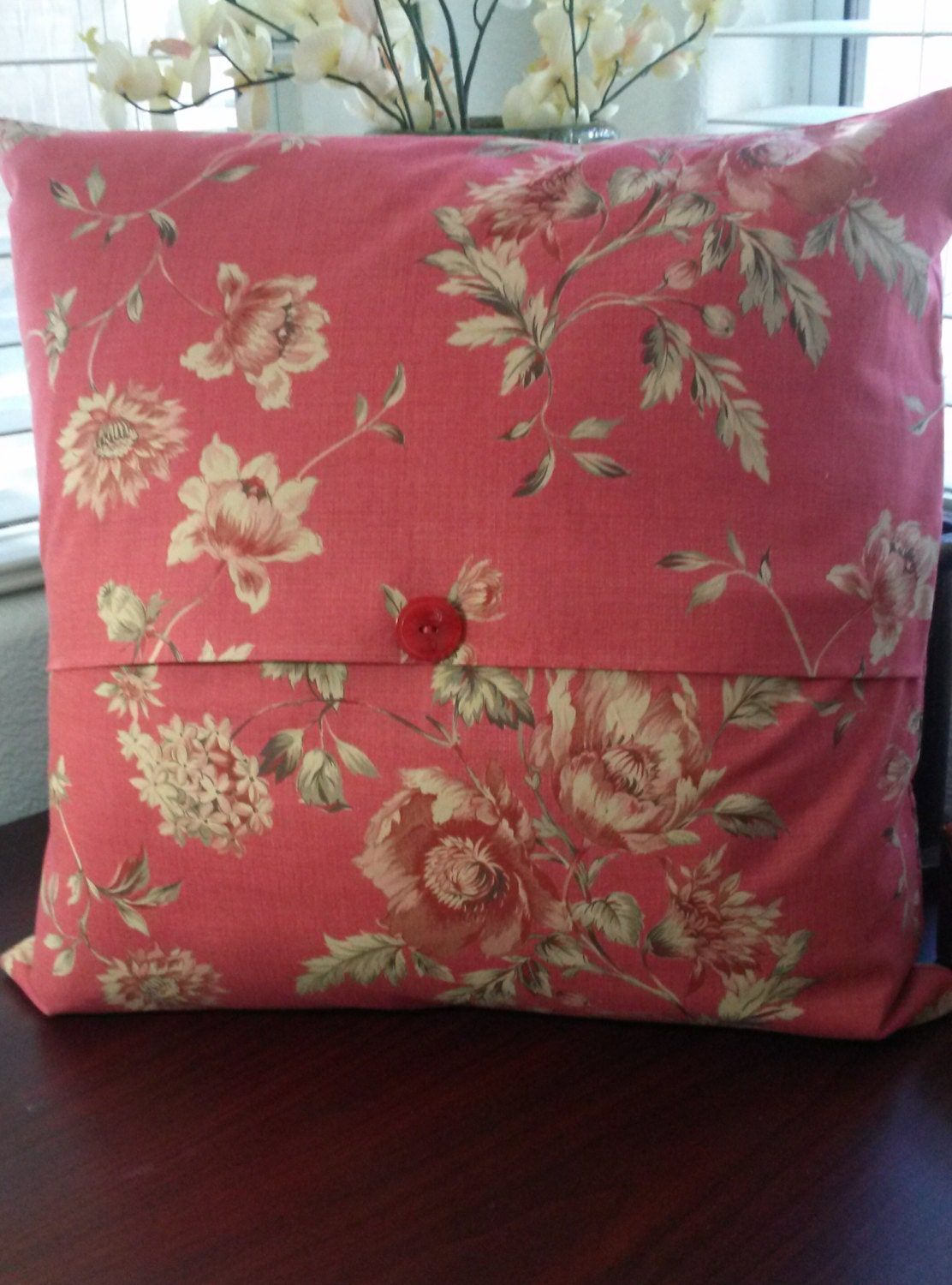 Shabby Chic Pillow Cover-French Country Pillow Cover-Cottage