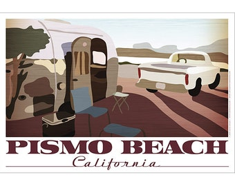 Pismo Beach, California Poster