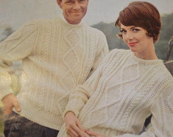 Festival Of Sweaters by Columbia Minerva Book 747 Vintage Patterns 5