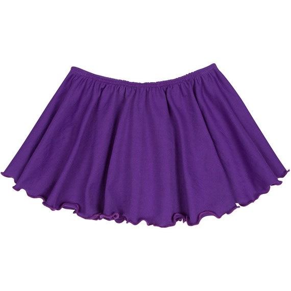 PURPLE Toddler & Girls Flutter Ballet Dance Skirt