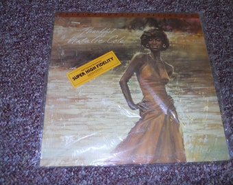 Natalie Cole Thankful Original Master Recording Vinyl Record LP Limited Edition