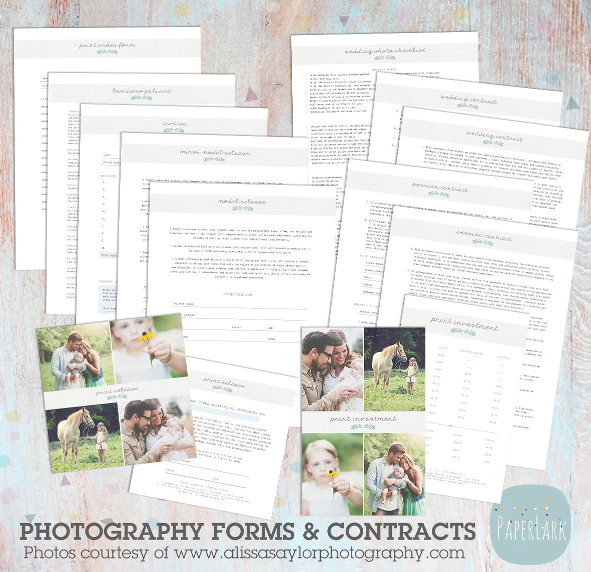 graphy Business Forms and Contracts NG018 INSTANT