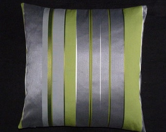 "Hella Jongerius  Maharam Textiles ""Repeat Stripe""- mid century modern style accent Pillow -  17"" X 17"""