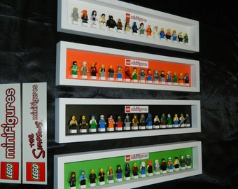 Handmade Display case for LEGO minifigure SERIES