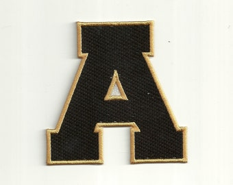 Varsity Letter Patch, any color combo, Large Custom Made!