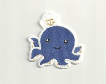 Cute Octopus Patch! Custom Made!