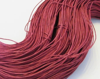 D-02710 - 10m Cotton wax cord 1mm