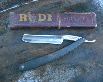 Authentic Vintage German Barber S Razor Rudi Shaaf