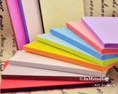 1PC 15cm x10cm x 0.8cm Assorted colored sandwich rubber stamp carving blocks for DIY paper working