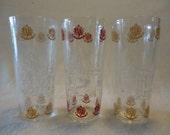 Vintage Glasses from Williamsburg, VA  / Set of 3