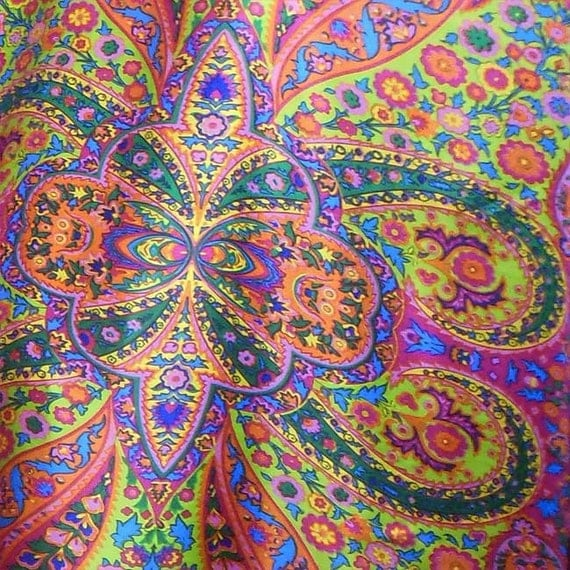 By 0 5 Meter Paisley Print Silk Fabric Pure Silk Satin
