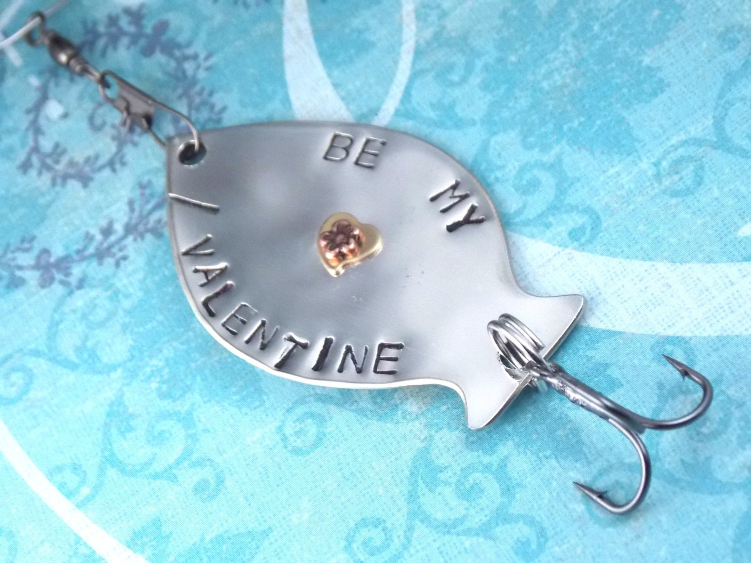 Items similar to personalized fishing lure be my for Personalized fishing lure