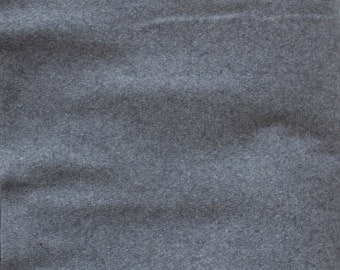 Dark grey felt fabric 1 yard- Wool felt by the yard- Wholesale felt by