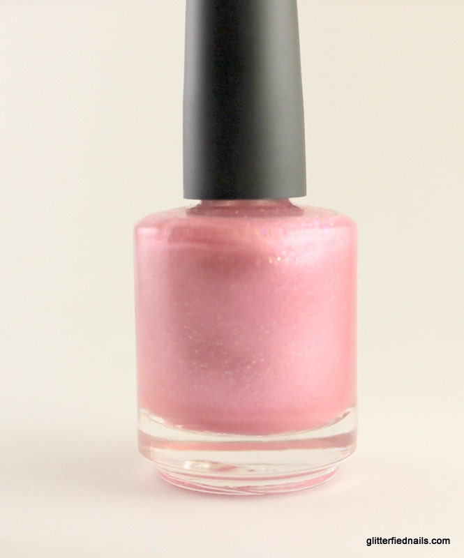 Cotton Candy Satin Fingernail Polish: Shop Demo