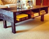 Free Shipping on a Beautiful, Rustic Coffee Table!!!!