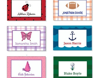 Personalized Gift Enclosure Cards- 24 PRINTED cards