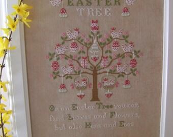 Schema    EASTER TREE comprendente anche versione francese - Formato cartaceo o PDF