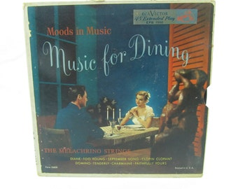 Music records, 45 record, record collection,