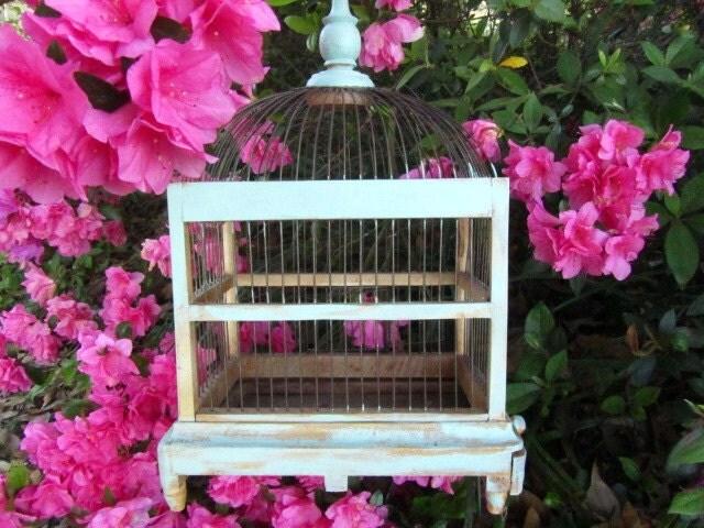 Vintage Birdcagemint Birdcagewood By KarensChicNShabby On Etsy