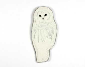 Patch Owl Eagle Owl Gundel 11 x 5cm