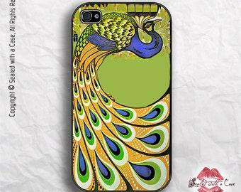 Art Deco Peacock - iPhone 4/4S 5/5S/5C/6/6+ and now iPhone 7 cases!! And Samsung Galaxy S3/S4/S5/S6/S7