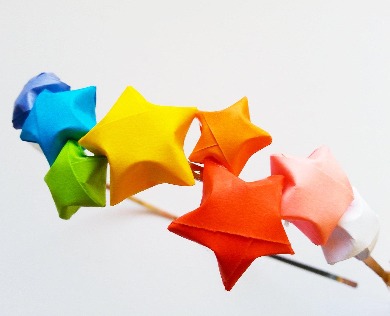 Star Headband Origami Lucky Stars - photo#22