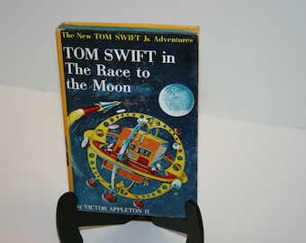 Vintage Tom Swift Jr. And The Race to The Moon #12 1958