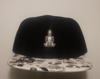 Buddha Peace in The Roses Snapback