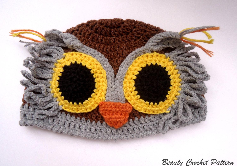 Crochet owl hat pattern crochet baby owl hat pattern crochet zoom bankloansurffo Image collections