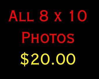 8 x 10 Photograph